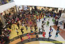 Flashmob Marineda City / El Movimiento Happy sorprende en el centro comercial Marineda City