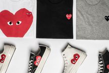 """""""Love Japan"""" / PLAY by Japanese fashion house Comme des Garçons maintains the quality and etiquette of CdG with a more fun approach."""