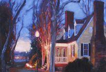 """Familiar Places"" Paintings of Midlothian, Virginia"