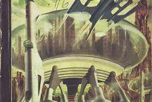 "Sci-Fi / ""Don't panic!"" - Douglas Adams"