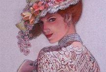 Şapka ve kadın