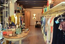 Caricia Exclusive Boutique / Interior & graphic design by Circus Design Studio http://www.circusdesignstudio.com/