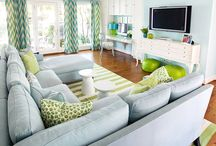 Living Room Inspiration / Living spaces with style.