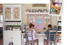 Organised Homework Spaces