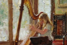 Painting ❤ Harp / by Allyson Chong