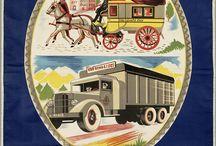 reclameborden vintage