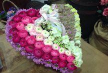 Un cuore per ogni occasione / Creazioni personali,cuori fioriti per dire...