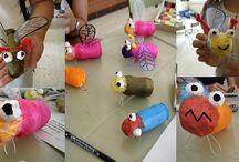 Insecten / Werken met kleuters