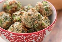 Broccoli Parmesan ball