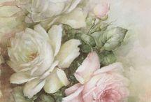 Белое с розовым...