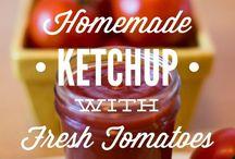 tahnat, ketchup