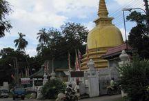 Rock Temple in Sri Lanka. / Ceylontusker tours took tourists to the Dambulla Rock temple while they were touring Sri Lanka.