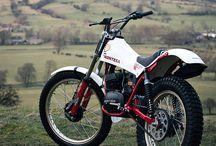 Trial motorcycle