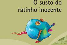 Livros infantis e juvenis / Capas dos livros escritos por Rouxinol do Rinaré