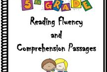 5th grade reading fluency and comprehension passages / 5th Grade Reading Fluency and Comprehension Passages. Make reading comprehension and fluency ENGAGING and FUN for your students/child with these 32 reading comprehension and fluency passages and more...