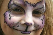 Kids face paintings