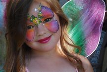 Fantasy Face Paint / Ideas for Color Guard and Halloween / by Rebecca Evans