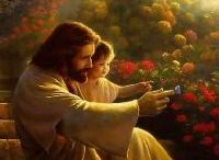 Jesus with Children Store / Touching images of Jesus with children, Buy 30+ in store / by Jesus ArtUSA