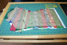 Christmas quilting sewing