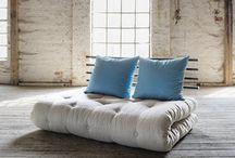 >> Design Schlafsofas << / Hochwertige Schlafsofas und Bettsofas für Gästezimmer und kleine Wohnungen.
