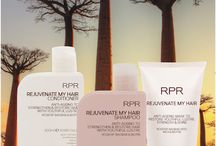 RPR Rejuvenate My Hair - anti-ageing hair care / RPR Rejuvenate My Hair Shampoo, Conditioner & Mask Anti-ageing to strengthen & restore hair with youthful lustre & shine. Rosehip, Baobab, Inca & Biotin.