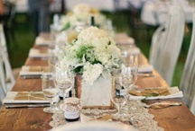 tables / Beautiful, unique and interesting ways to lay the table :) For weddings, parties and showers...