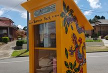 Street libraries / The City of Ryde is working with the community to share books through the installation of little libraries in our public domain.