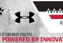 Under Armour #TeamUA / Cincinnati Athletics: Officially Powered by Under Armour Innovation (starting July 1, 2015) / by Cincinnati Bearcats