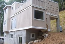 TINY HOUSES / STORAGE CONTAINERS / by Terri Shields