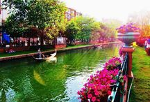 colorfull riverside