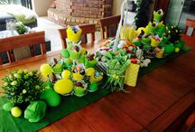 Easter bunny table Decor / Easter table decorations
