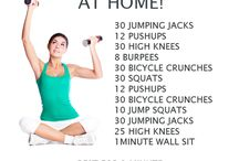 Exercises and fat burning foods