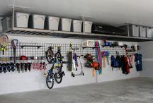 Garage rakke