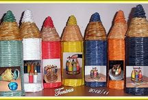 карандаш плетение