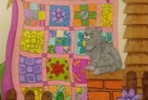 ColorIt Colorful Quilts Submissions / Enjoy our creative quilts coloring pages from our Colorful Quilts Adult Coloring Book, submitted by none other than our awesome ColorIt fans!