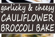 Cauliflower and brocolli bake