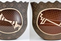 JODY NARANJO / Jody's work is couched in the traditional, still digging her clay from the Santa Clara Pueblo, hand building, and firing outdoors, yet she has, with amazing success, incorporated these traditional approaches into an absolutely identifiable style that is clearly her own.