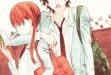 Haru and Shizuku♥ / Tonari no Kaibutsu- kun couple ♥  Haru Yoshida ♥ Shizuku Mizutani