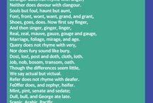 Speech, Poetry / by Genelle McDaniel
