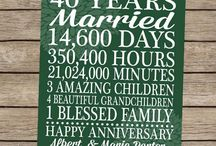 Mom & Dad's Anniversary / by Kelly Whitesel Helgeson