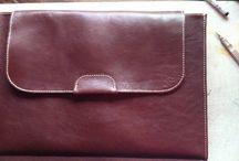 Bőr táska / Elegáns bőr táska laptop-, irattartó vagy bárminek, akár egyedi méretre is. 19000HUF