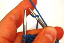 Knitting tips / Charts: yarn ply, pattern symbols,  sts for circular needles
