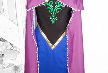 Frozen / Costumi di mia creazione di Anna e Hans per carro di Carnevale