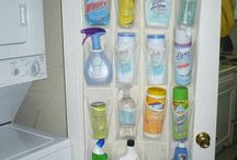 Cleaning suplies storage