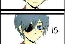 dessin manga (mâle)