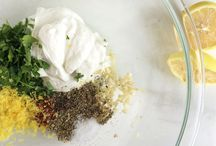 The Best Marinades / Great, quick and simple Greek-inspired marinades.