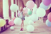 balloons make me :) / by Brittany Sobieski