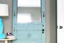 Antique Doors / Old antique shabby vintage doors