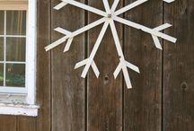 DIY / decorating ideas for winter / christmas
