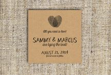 Save the Date / Be sure guests have your wedding date penned in to celebrate!